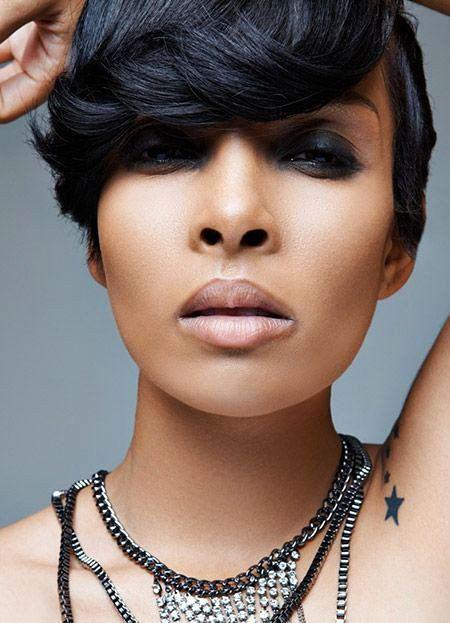 Short Hairstyles for Black Women - 29-