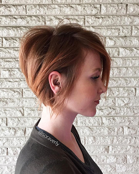 Hairstyles for Short Hair - 30-
