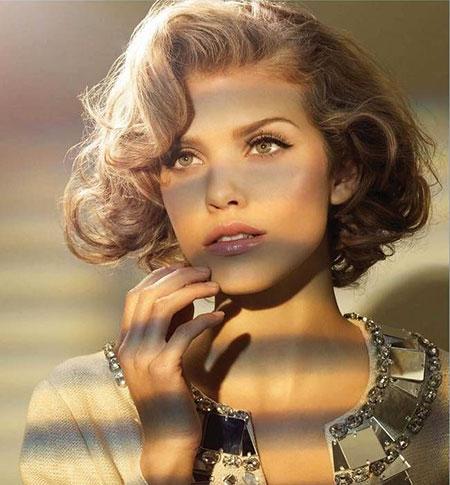 Short Curly Hair - 30-