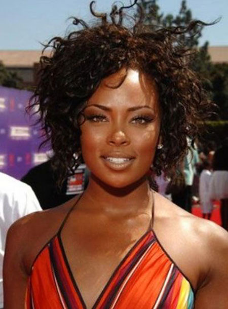 Short Curly Hairstyles Black Women - 30-