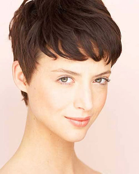 2016 Short Hair with Bangs - 32-