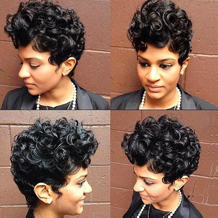 Short Curly Hairstyles Black Women - 32-