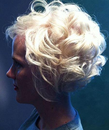 Short Curly Hair - 33-