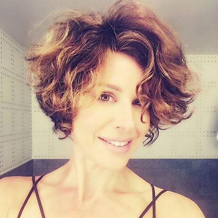 Short Curly Hair - 34-