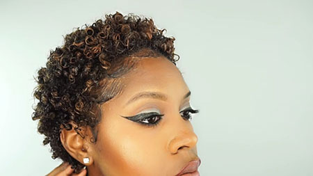 Short Curly Hairstyles Black Women - 34-