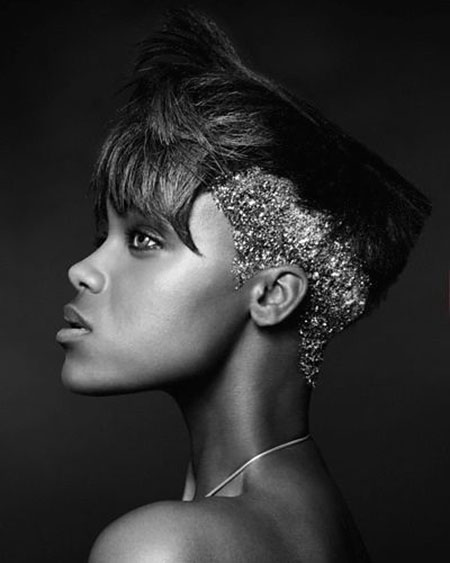 Short Hairstyles for Black Women - 34-