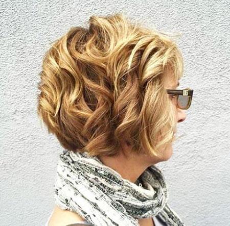 Short Curly Hair - 35-