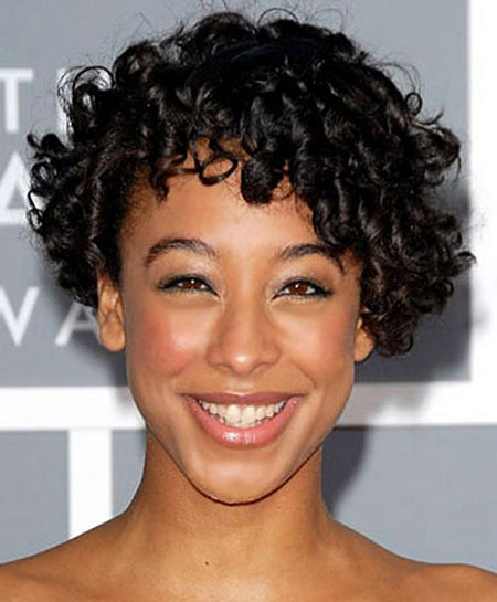Short Curly Hairstyles Black Women - 35-