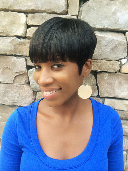 Short Haircuts for Black Women - 35-
