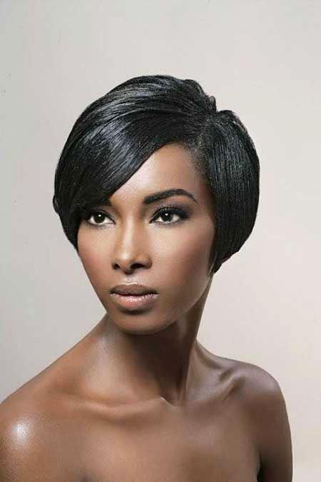 Short Hairstyles for Black Women - 35-