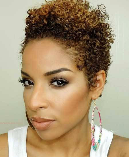 Short Hairstyles for Black Women - 35-