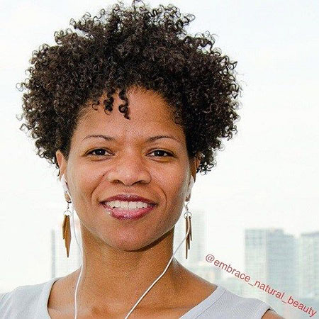 Short Curly Hairstyles Black Women - 36-
