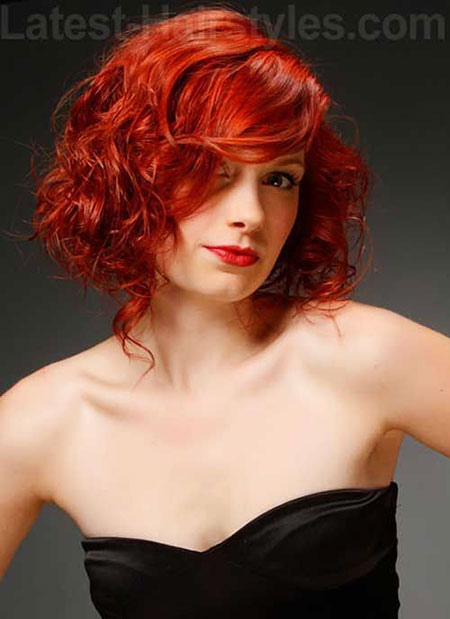 Short Curly Hair - 38-