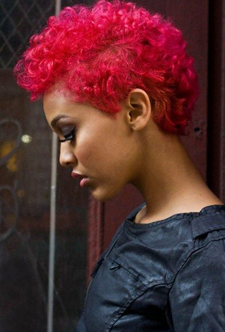 Short Curly Hairstyles Black Women - 38-