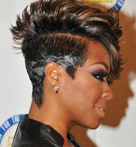 Short Hairstyles for Black Women - 38-