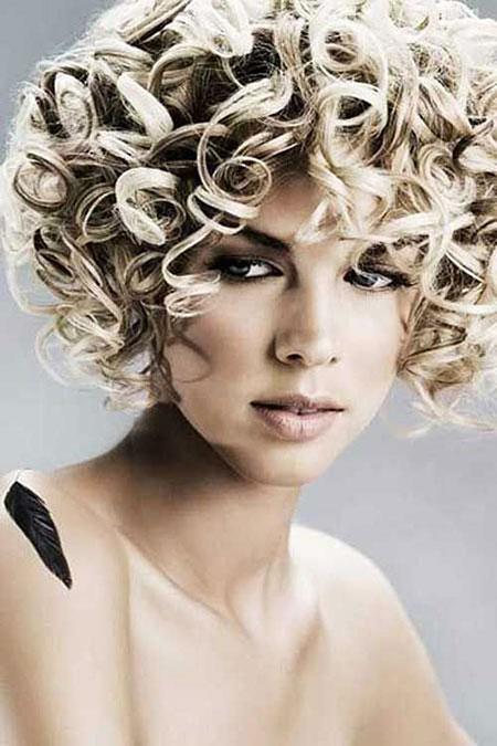 Short Curly Hair - 39-