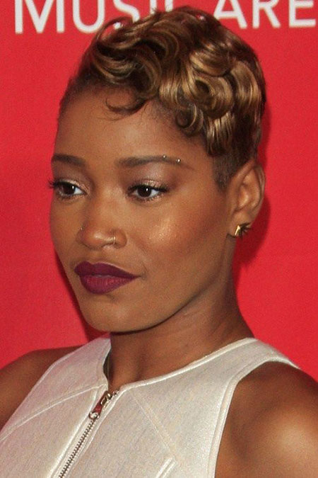 Short Curly Hairstyles Black Women - 39-