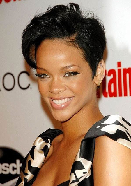 Short Hairstyles for Black Women - 40-