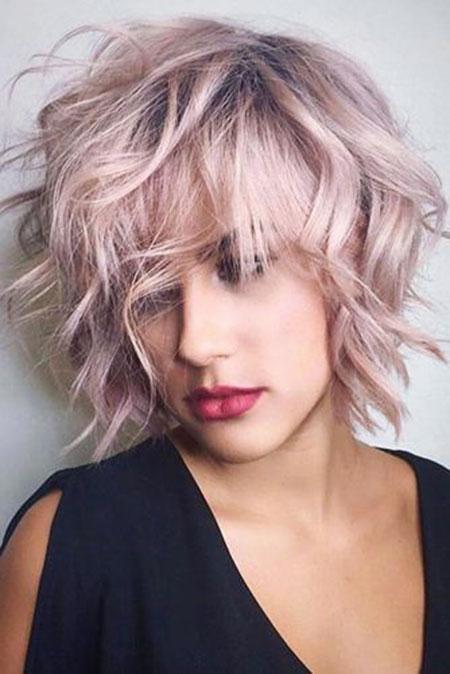 Short Curly Hair - 41-