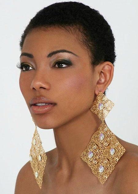 Short Curly Hairstyles Black Women - 41-