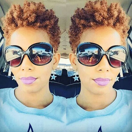 Short Hairstyles for Black Women - 41-