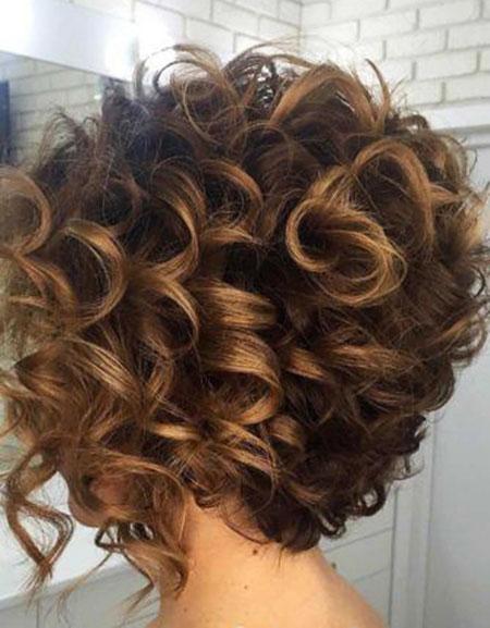 Short Curly Hair - 42-