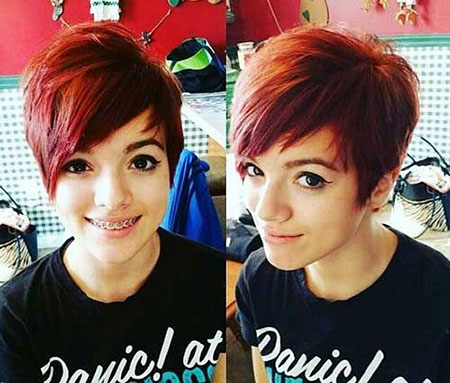 Hairstyles for Short Hair - 43-