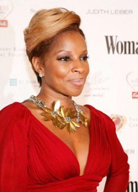 Short Hairstyles for Black Women - 43-