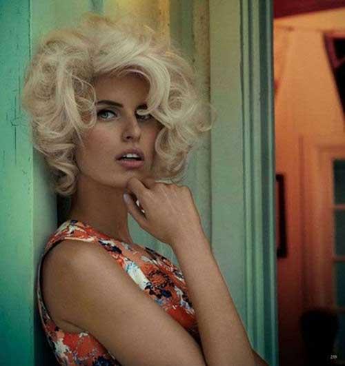 50s Short Blonde Hair Styles
