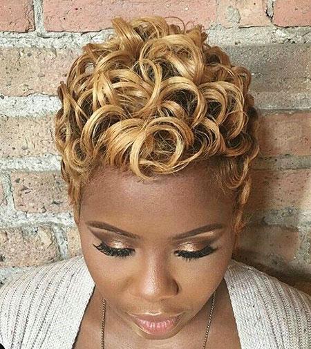 Short Curly Hair - 6-