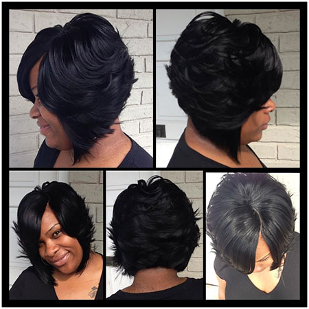 Short Haircuts for Black Women - 6-