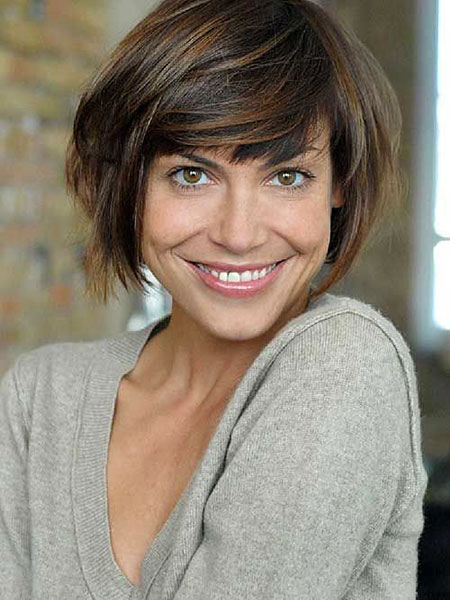 2016 Short Hair with Bangs - 7-
