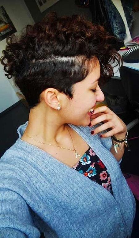 Short Curly Hair - 7-