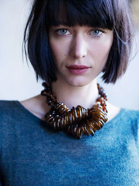Best 2016 Short Hair with Bangs - 8