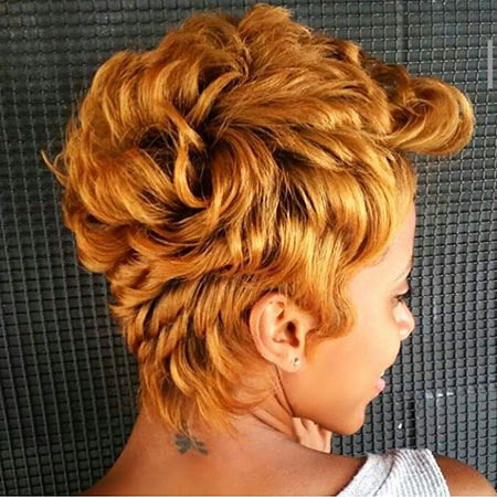 Short Curly Hairstyles Black Women - 8-