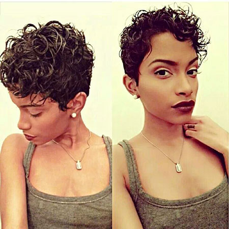 Short Hairstyles for Black Women - 8