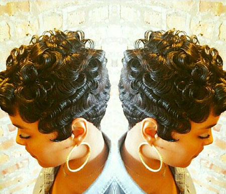 Short Hairstyles for Black Women - 9