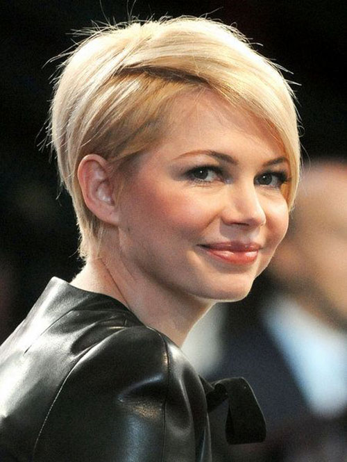 Actress with Nice Short Blonde Hair