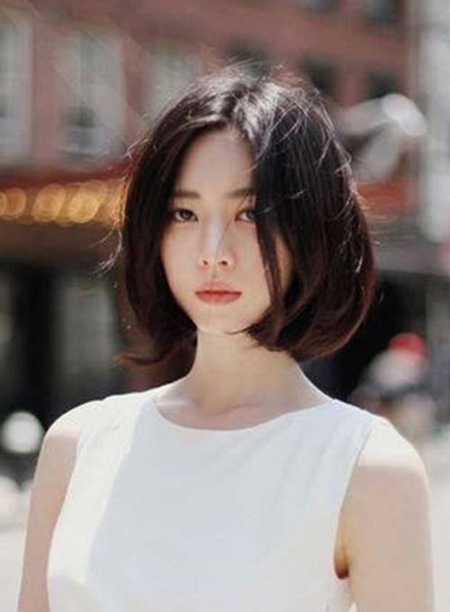 Asian Bob Hairstyles for Girls