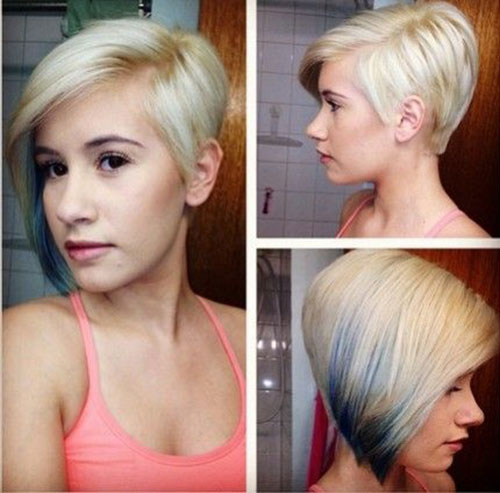 Best Asymmetric Cute Haircuts for Short Thick Hair