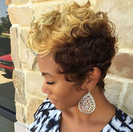 40 Best Short Curly Hairstyles For Black Women Short