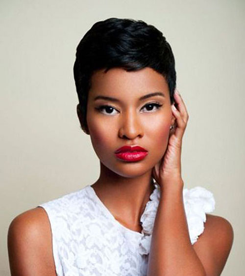 Black Women Cute Short Haircuts