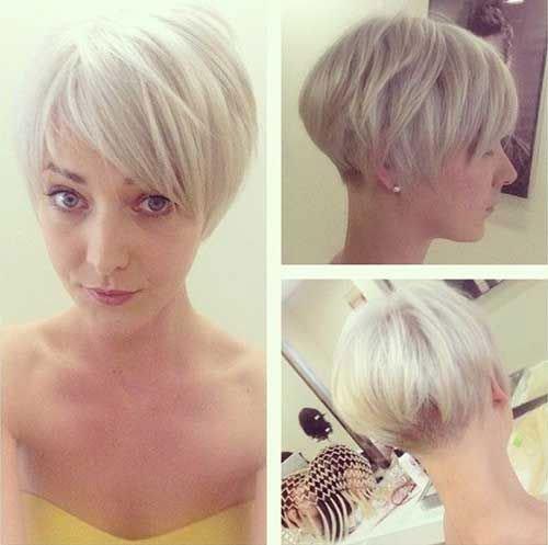Best Blonde Hairstyles for Short Hair Girls