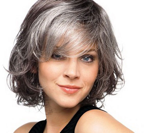 Short Bob Hairstyles for Grey Hair