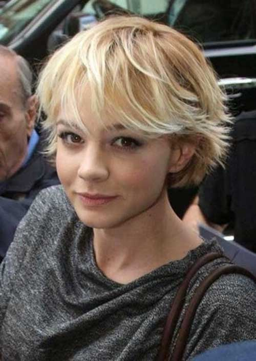 Carey Mulligan Short Hair 2015