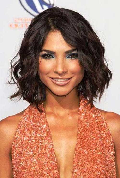 Best Short Haircuts For Wavy Thick Hair : Short hairstyles for thick wavy hair