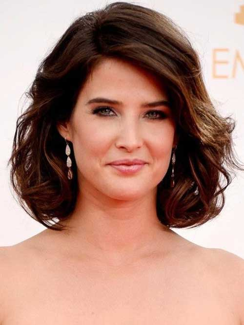 15 Short Hairstyles For Thick Wavy Hair | Short Hairstyles & Haircuts ...