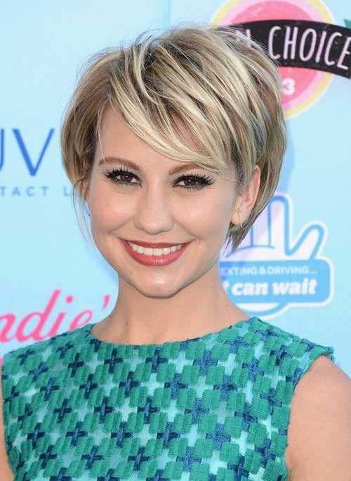 Classy Short Layered Haircuts with Bangs 2016