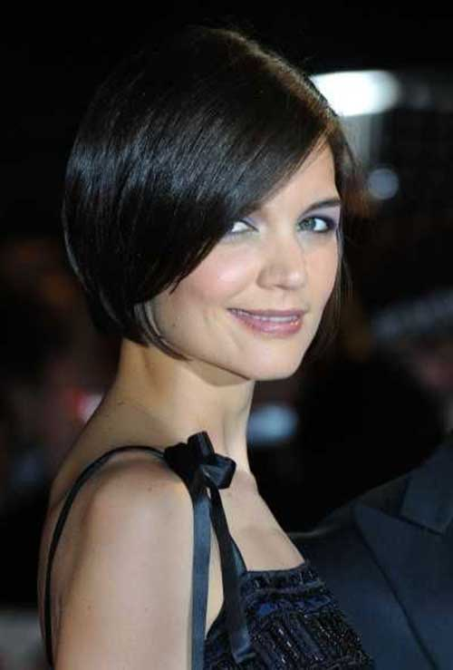 Cute Bob Cut Dark Hairstyles