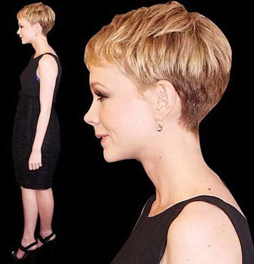 Cute Pixie Cut Side View